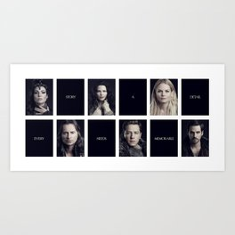 Every Story Needs a Memorable Detail Art Print