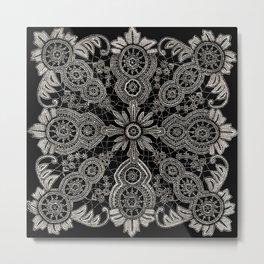 Victorian Monochrome Metal Print