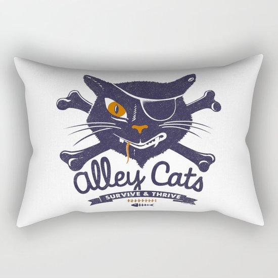 Alley Cats Rectangular Pillow