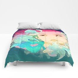 Fish Lady Comforters
