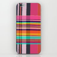 plaid iPhone & iPod Skins featuring Plaid by Love2Snap