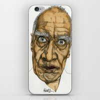 allyson johnson iPhone & iPod Skins featuring Wilko Johnson by Paul Nelson-Esch Art