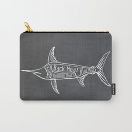 Swordfish Butcher Diagram (Nautical Meat Chart) Carry-All Pouch