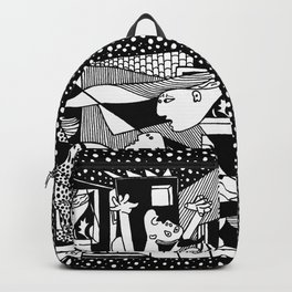 Guernica. Picasso Backpack