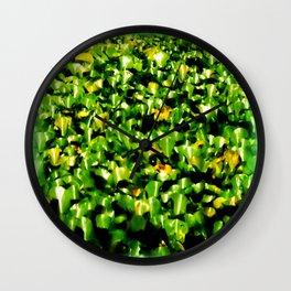 Water Lillies  Wall Clock