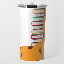 Giraffe bookshelf bookworm bookworm gift Travel Mug