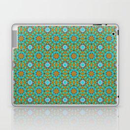 Moroccan Tile 1A - Blue Laptop & iPad Skin