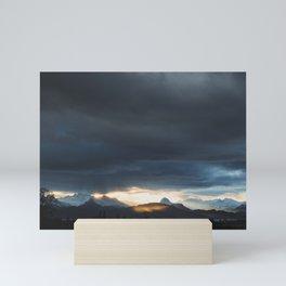 Sunrise over Kachemak Bay, Alaska Mini Art Print