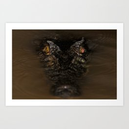 Pure Evil Art Print