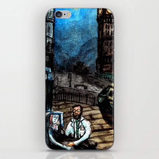 The Doctor is In iPhone & iPod Skin