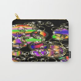 Golden Rings Rainbow Carry-All Pouch