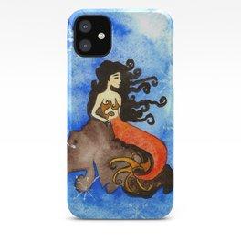 Winter Mermaid iPhone Case