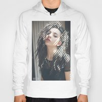 charli xcx Hoodies featuring Superlove ~ Charli XCX by Michelle Rosario