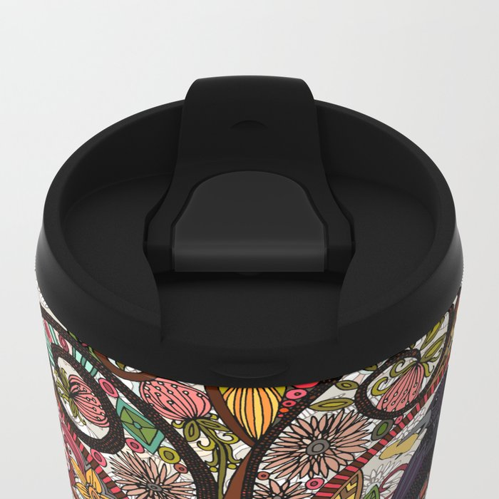 fox and crow Metal Travel Mug