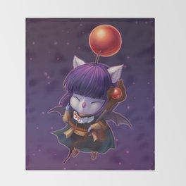 Mazoku Mog Throw Blanket