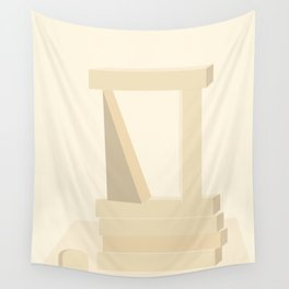 Shape study #13 - Stackable Collection Wall Tapestry