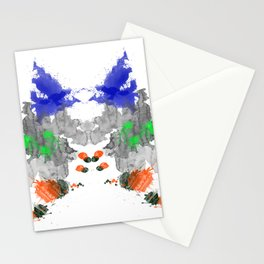 Personality Test: Grey Blot Stationery Cards