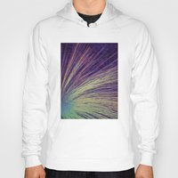 fireworks Hoodies featuring Fireworks by Françoise Reina