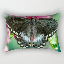 Easter Tiger Swallowtail Butterfly Rectangular Pillow
