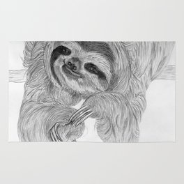 Just a sloth Rug