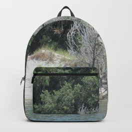 The Skeleton Tree on the Beach Backpack
