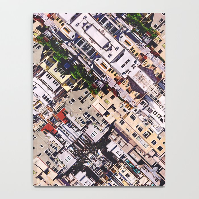 Scene of City Structures Notebook