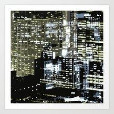 Night City 1 Art Print
