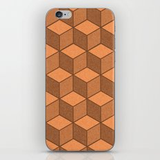 Sand Cubes iPhone & iPod Skin