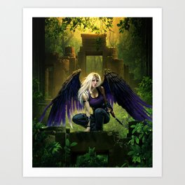 Archangels Consort Art Print