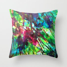 The Difference Between Seeing and Being Seen Throw Pillow