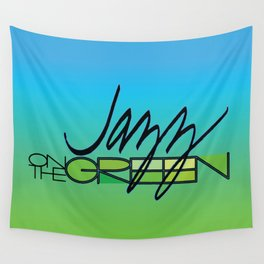 Jazz on the Green Wall Tapestry