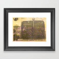 Encaustic Study #2 Framed Art Print