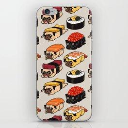 Sushi Pug iPhone Skin