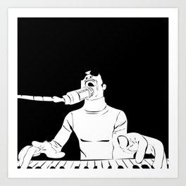 Feel the Music with Stevie Wonder Art Print
