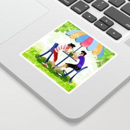 Summer Lovers Sticker