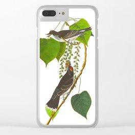 Tyrant Fly-catcher Bird Clear iPhone Case