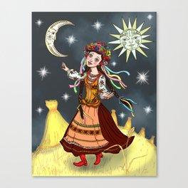 Slavic Rhapsody Canvas Print