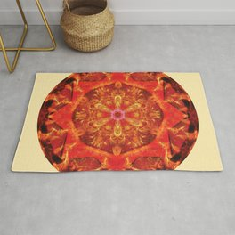 Mandalas from the Heart of Transformation 7 Rug