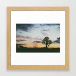 Nordic light  Framed Art Print