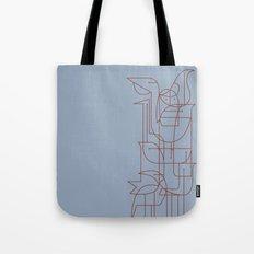 Geometric Birds 2 Tote Bag