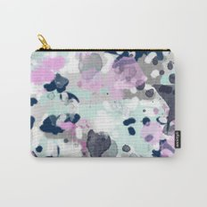 Berti - abstract minimal trendy color palette hipster home decor Carry-All Pouch