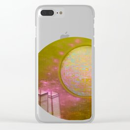 Planetary Moods 1A Clear iPhone Case