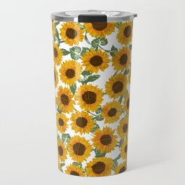 SUNNY DAYS -sunflowers- Travel Mug