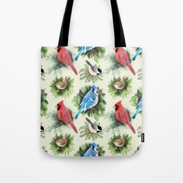 Birds and Branches Tote Bag