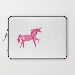 Origami Unicorn Laptop Sleeve