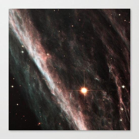 Pencil Nebula Canvas Print