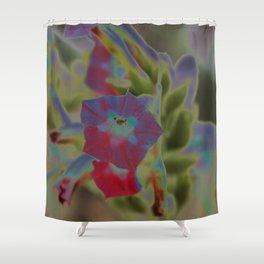 Fluent color Shower Curtain