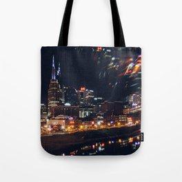 Music City Lights - Nashville Tote Bag