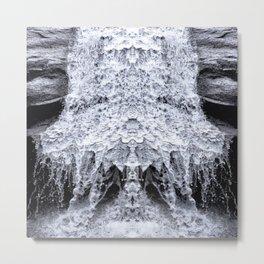 Chilean Waterfall Metal Print