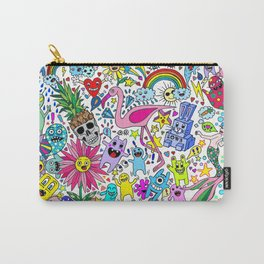 PineSkullz and Friends Carry-All Pouch